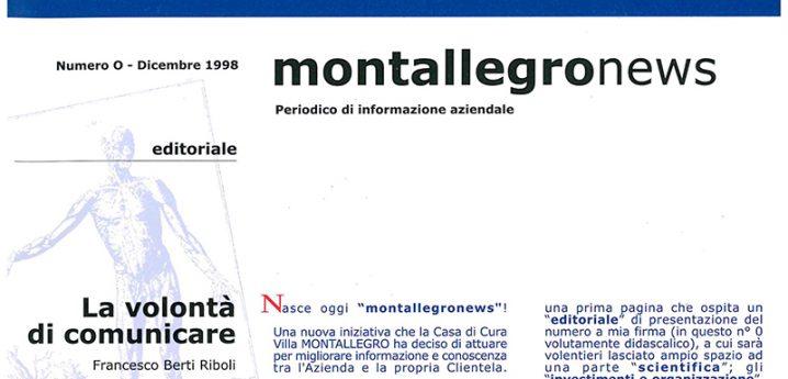 Montallegronews n.0-1998