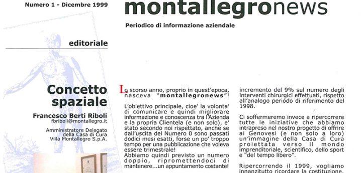 Montallegronews n.1-1999