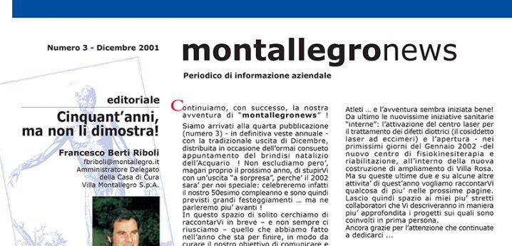 Montallegronews n.3-2001