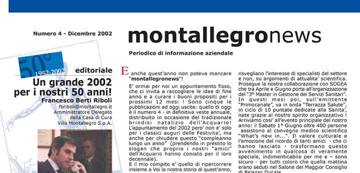 Montallegronews n.4-2002