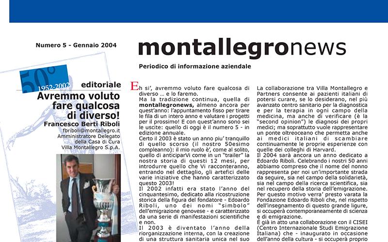 Montallegronews n.5-2004
