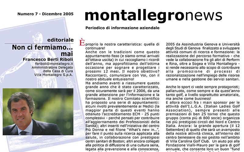 Montallegronews n.7-2005