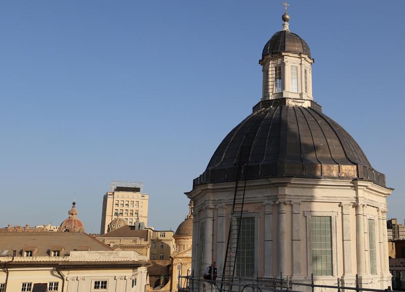 Un po' di Montallegro nella cupola di San Lorenzo